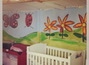 Wall murals for the SEEDLING CRÈCHES PROJECT
